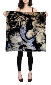 Princess Tan MermaidPrincess713 silk scarf