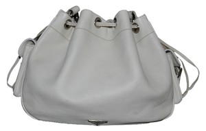 Prada Leather Drawstring Shoulder Bag