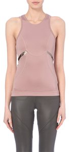 Stella McCartney ADIDAS BY STELLA MCCARTNEY Racerback Tank Top in Blush/Metallic - Size S