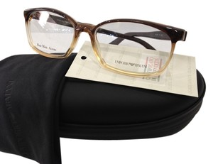 Emporio Armani NEW EMPORIO ARMANI EA9787 COLOR YZJ BROWN GRADIENT PLASTIC EYEGLASSES MADE IN ITALY