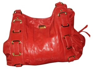 Big Buddha Satchel in Red