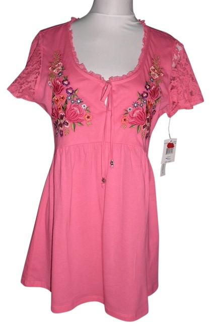 Item - Pink New with Tags Medium Blouse Size 10 (M)