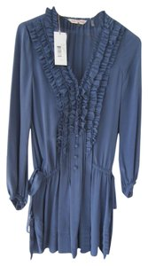 Rebecca Taylor Silk Tunic Or Mini Dress