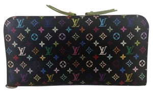 Louis Vuitton Authentic Louis Vuitton Multicolor Noir Insolite Wallet with Box..