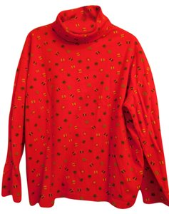 Talbots Cotton Holiday Turtleneck Sweater