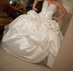 Waste Couture Wedding Dress