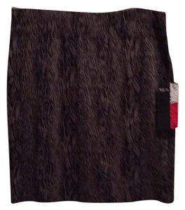 Style & Co Skirt Black/Taupe