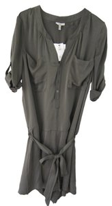 Joie Silk Romper Detail Fall Dress