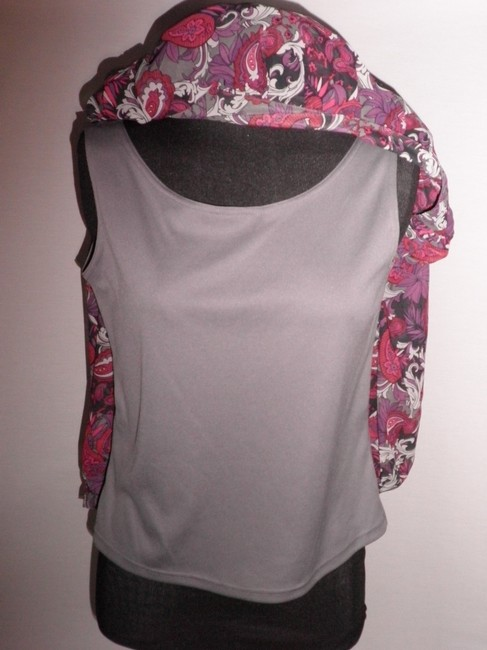 Sag Harbor Top Gray Multicolor