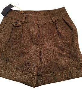 Brooks Brothers Mini/Short Shorts brown