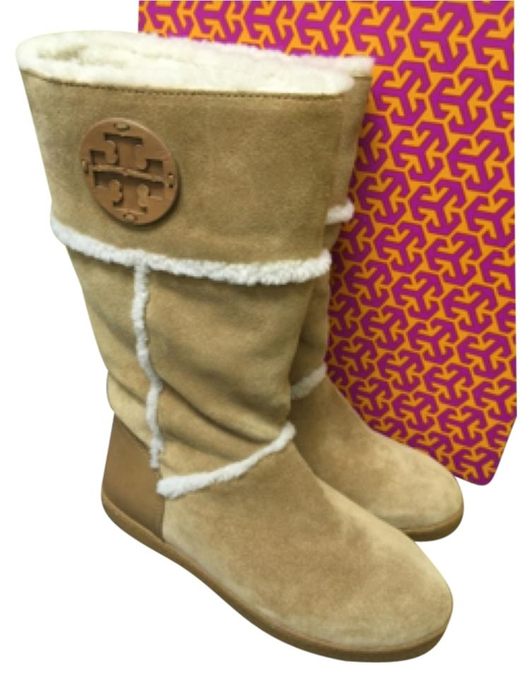 62ef0dbf6b0c Tory Burch Camel Winter Boots Booties Size US 8 Regular (M