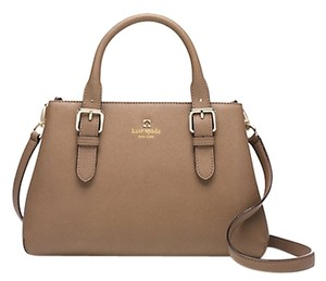 Kate Spade Leather; Guaranteed Your Money Back Satchel in Dune