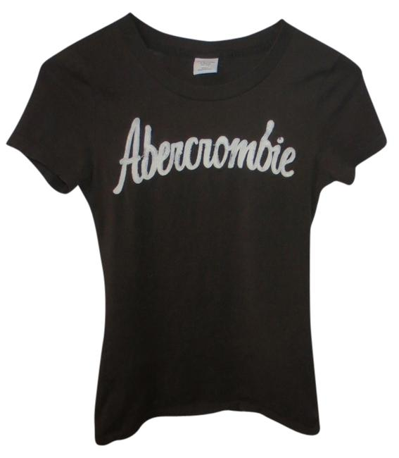 Abercrombie & Fitch T Shirt Brown with white lettering