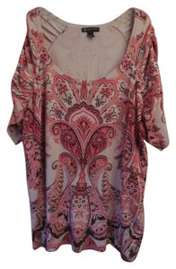 INC International Concepts Plus-size Paisley Tunic