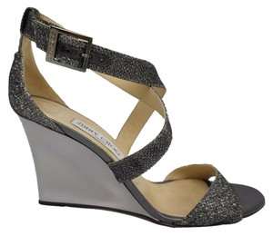 Jimmy Choo Anthracite Wedges