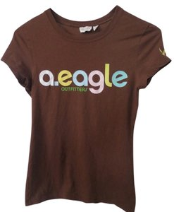 American Eagle Outfitters T Shirt Brown