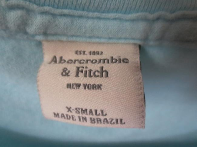Abercrombie & Fitch T Shirt Baby Blue