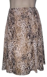 Jones Wear Skirt Animal Print