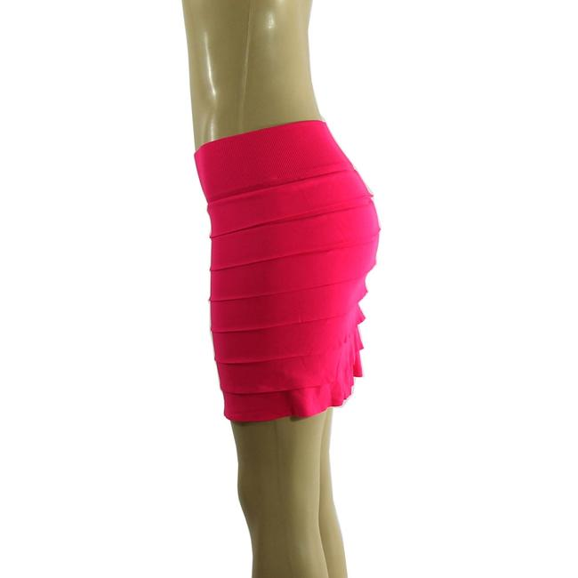 Other Mini Skirt Hot Pink