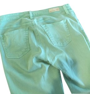 AG Adriano Goldschmied Skinny Pants Mint