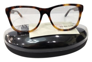 A|X Armani Exchange NEW ARMANI EXCHANGE AX237 COLOR BGJ TORTOISE BIG PLASTIC EYEGLASSES FRAME 53MM