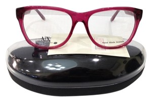 A|X Armani Exchange NEW ARMANI EXCHANGE AX237 COLOR BCF PINK BIG PLASTIC EYEGLASSES FRAME 53MM