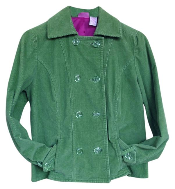 Papagallo Classic Preppy Cool Crystal Pea Coat