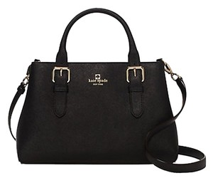 Kate Spade Leather; Guaranteed Your Money Back Satchel in Black