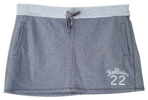 Hollister Sporty Cute Mini Skirt grey