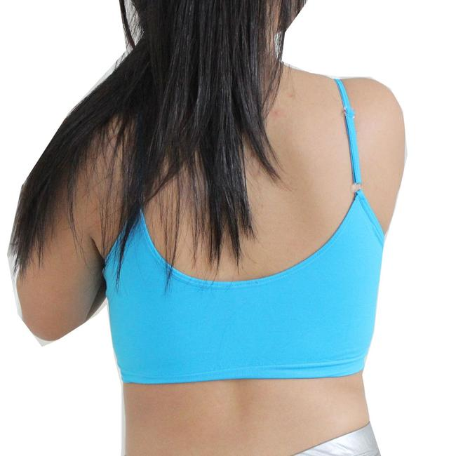 Other Sexy BANDEAU Sports Bras Tube Top Working Out Exercise Running Adjustable Yoga Turquoise
