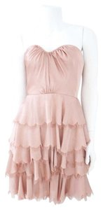 Rebecca Taylor short dress Blush on Tradesy