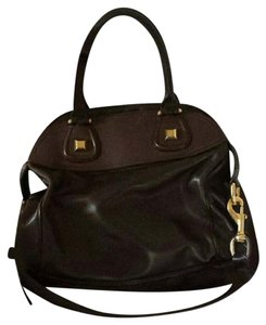 Givenchy Nightingale Dark Raised Stud Satchel in Brown