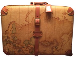 Alviero Martini Classic Geo-map Travel Bag