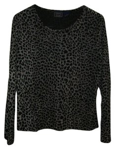 Laura Scott Top black/grey
