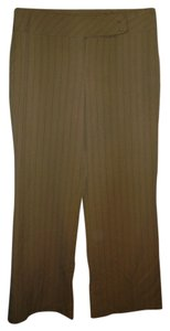 Worthington Straight Pants tan/black