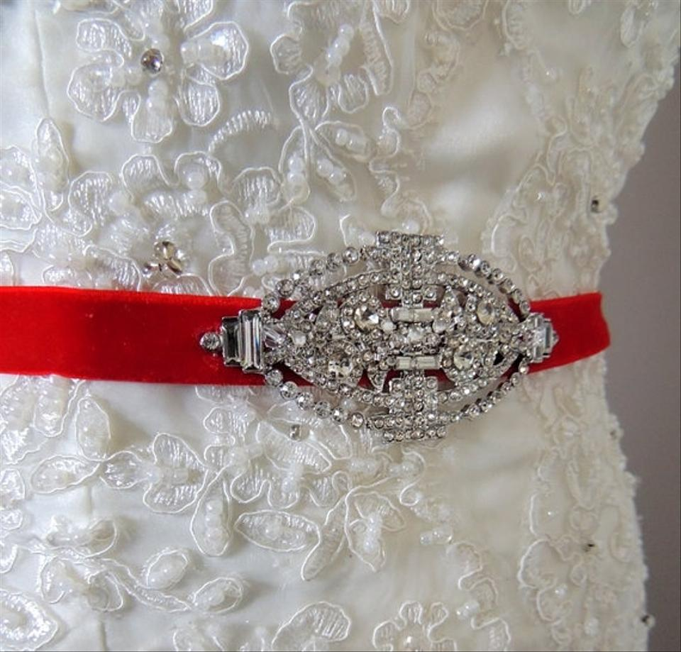 Other Wedding Dress Gown Vintage Inspred Art Deco Jeweled