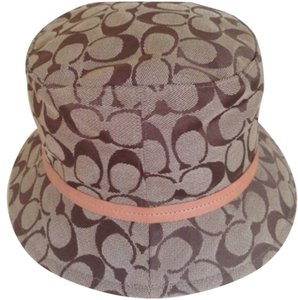 Coach Logo Bucket Hat