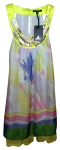 Radzoli Embellished Top pastels: yellow, pink, green, lilac, white