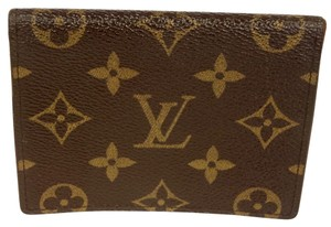 Louis Vuitton Louis Vuitton Signature Monogram LV Canvas Wallet