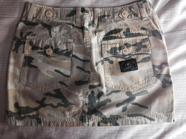 Lucky Brand Mini Skirt Greens and a yellow gold