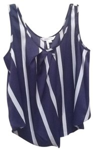 BCBGeneration Top Navy and white stripe