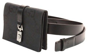 Gucci Belt Wristlet in black