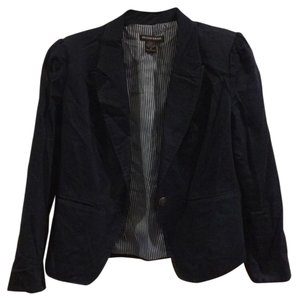 British Khaki Navy blue Blazer