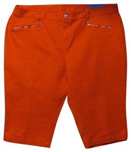 Skye's the Limit Bermuda Shorts Orange