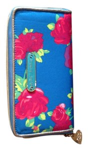 Betsey Johnson Wristlet in Blue