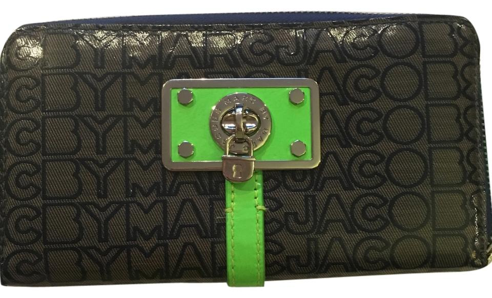 ebad804ac661 Marc by Marc Jacobs Grey/Royal Blue/Lime Green/Silver Hardware ...
