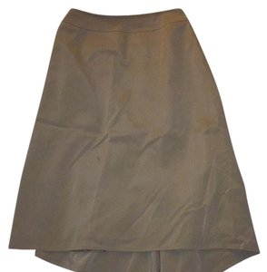 Fendi Skirt Gold