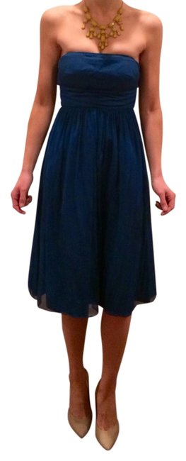 Preload https://item2.tradesy.com/images/jcrew-blue-strapless-silk-chiffon-above-knee-formal-dress-size-0-xs-8891-0-0.jpg?width=400&height=650