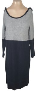 Rag & Bone short dress Blue & Gray Sweater & on Tradesy