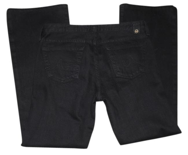 Item - Black Dark Rinse The Angel Boot Cut Jeans Size 30 (6, M)